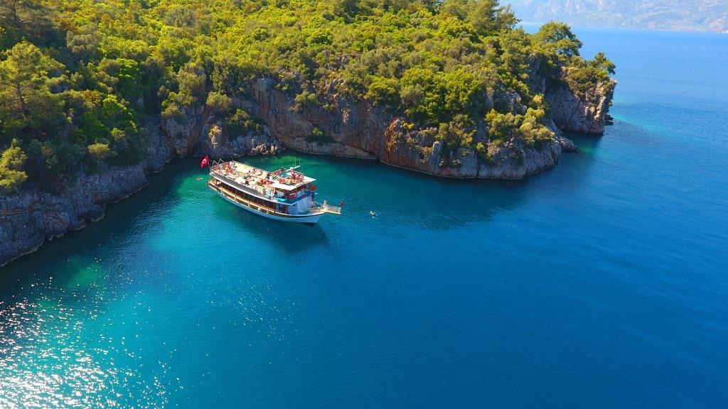 Мармарис Турция яхта