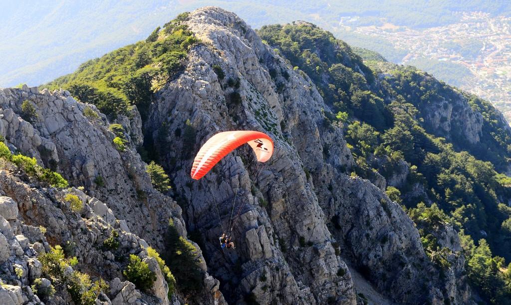 Гора Бабадаг в Фетхие Турция