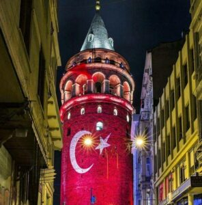 Комендантский час в Стамбуле на Новый год