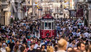 Центр Стамбула для местных жителей - Таксим