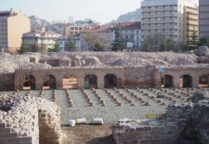 Византийские руины в Анкаре