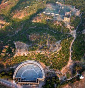 Древний город Аспендос Турция