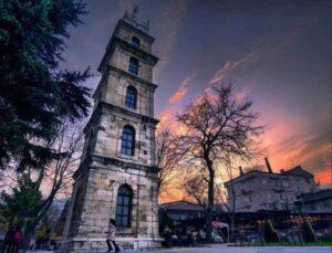 Часовая башня Топхане Бурса