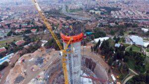 Телебашня в Стамбуле