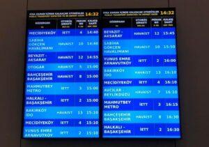 Хаваист автобусы из нового Аэропорта Стамбула