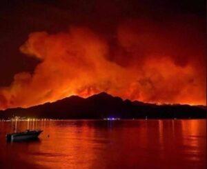Пожары в Турции сегодня