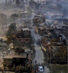 Пожары в Турции в 2021