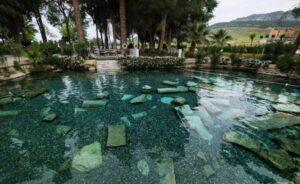 Памуккале Бассейн Клеопатры